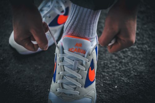 Otra zapatilla digna de un post en nuestro blog. Nike Air Icarus extra ya disponible en Strap.