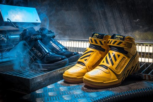 "Reebok Alien Stomper ""Final Battle"" Pack. Dos colorways inspirados en la batalla final de la película Alien."