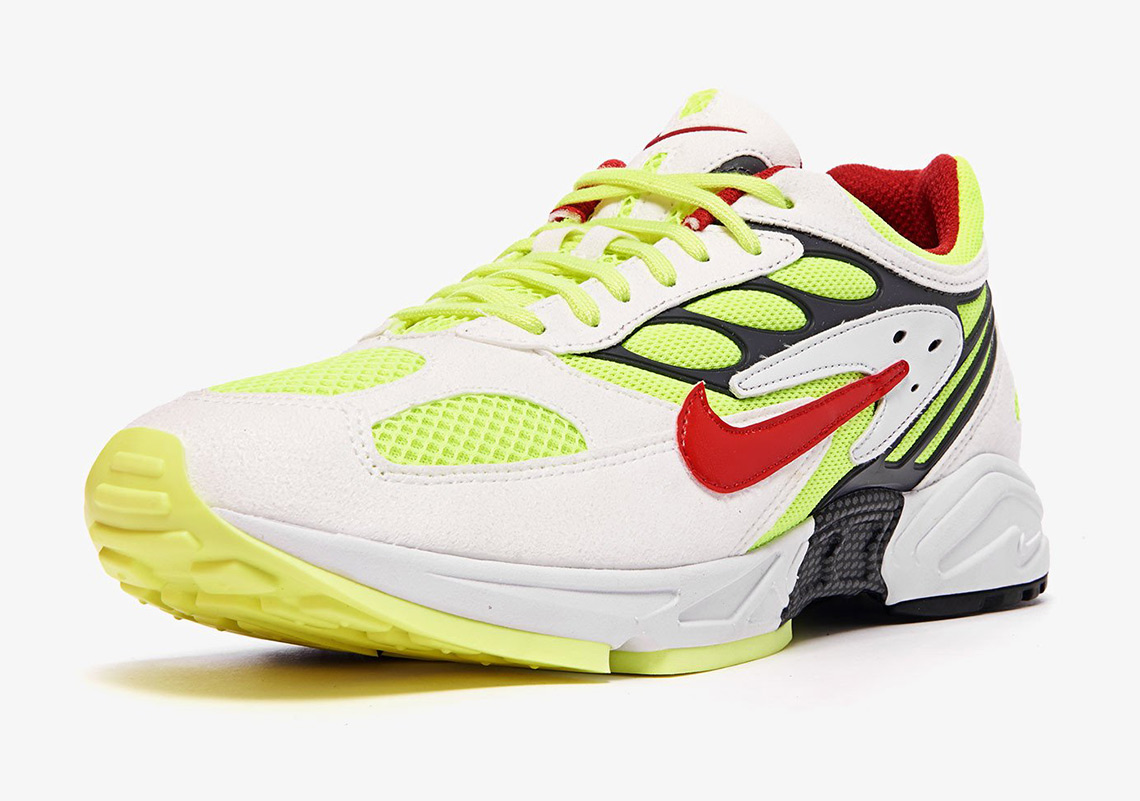 nike-air-ghost-racer-AT5410-100-white-neon-yellow-red-2-wearestrap