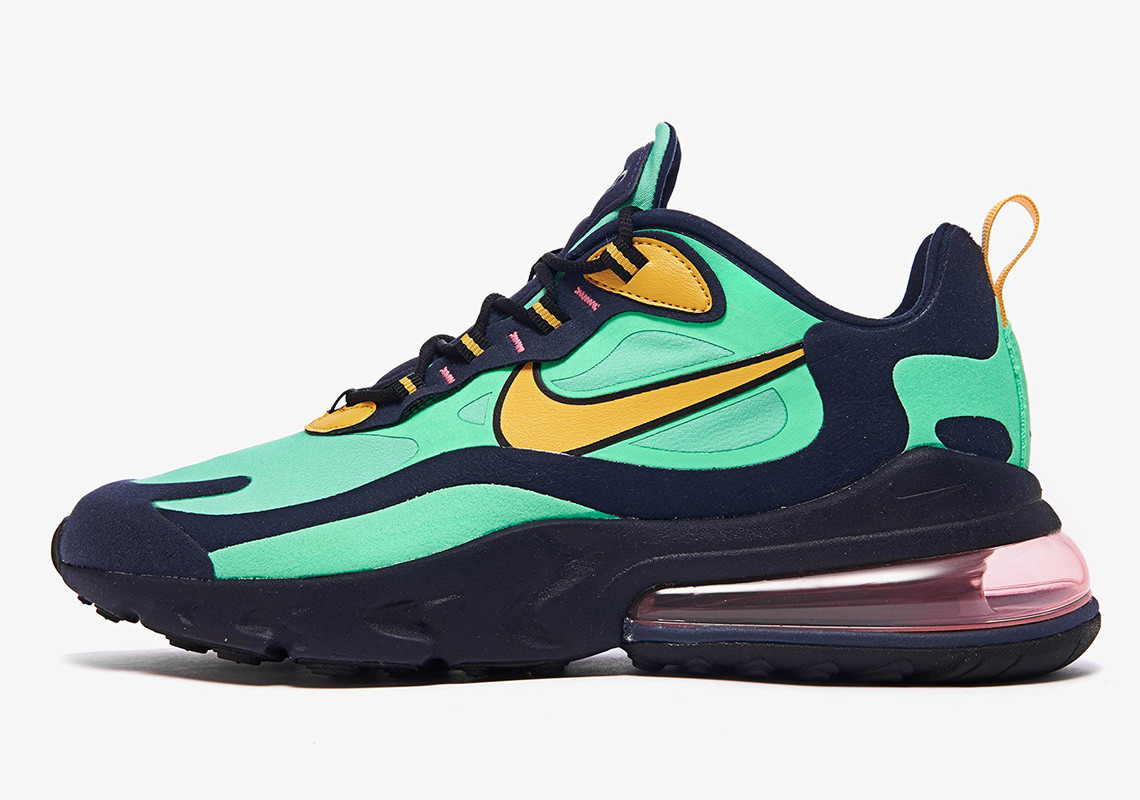 nike-air-max-270-react-AO4971-300-electro-green-yellow-ochre-obsidian-WEARESTRAP 1